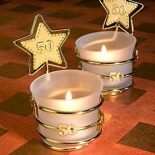 75 Gold Star Design 50Th Anniversary Celebration Favors