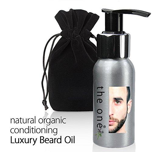 Naturel Huile de barbe Bio – Homme Facial Hipster Barbe Cheveux Traitement d'huile. 50 ml