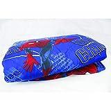 Hasbro Spiderman 64435901010 Copriletto Trapuntato, Poliestere, Blu, 80 x 190 cm