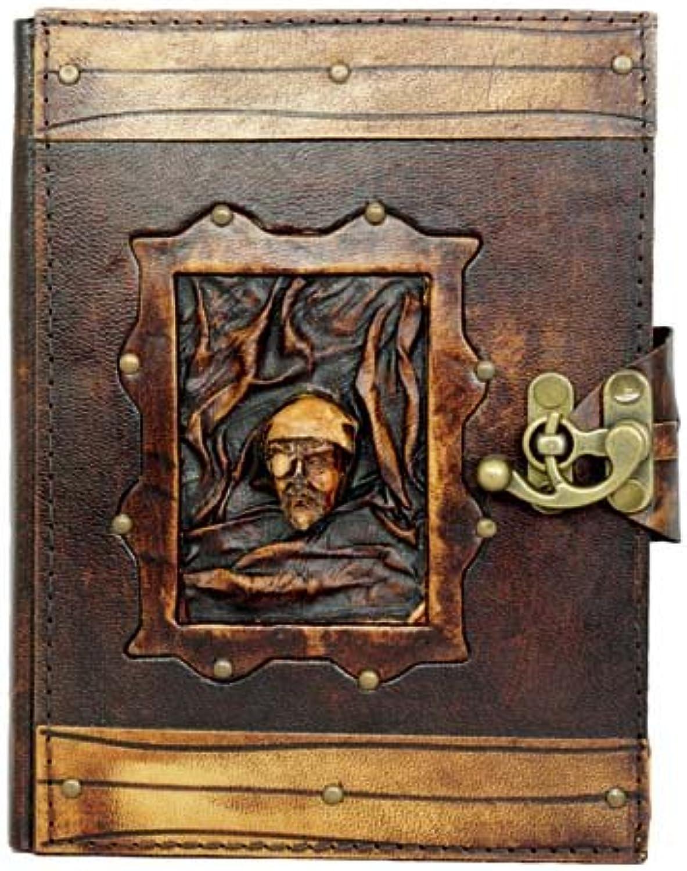 A Little Present 17,3 x 59 cm, Piraten-Design, Piraten-Design, Piraten-Design, nachfüllbar, breiter Tagebuch aus Leder, handgefertigt, Vintage braun B00T65K622 | Vielfalt  f3c17c