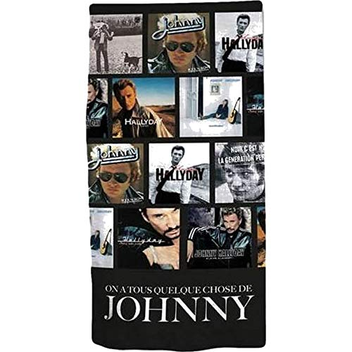 serviette Johnny Hallyday