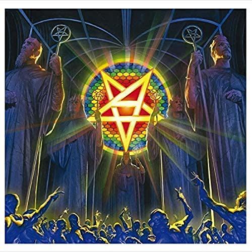 RZHSS Anthrax: for all Kings Music 2018 Music Album Cover Poster Stampe su Tela Soggiorno Housewarming Decor Gift -60X60Cm No Frame