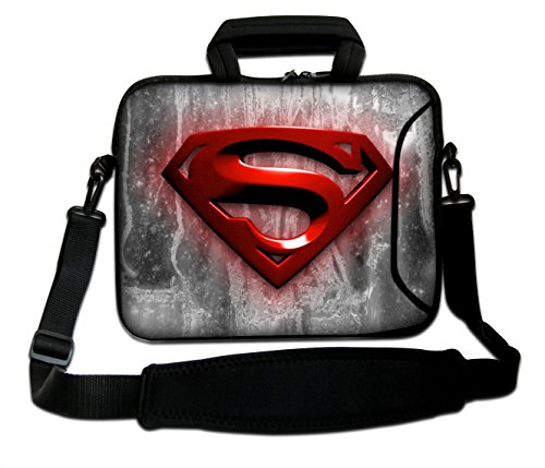 17'- 17.3' inch Tablet Laptop Notebook MacBook Sleeve Case Bag WITH HANDLE AND STRAP Pouch Protective Skin Cover by Funky Planet Top Quality Bags/Cases MANY DESIGNS