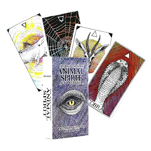planuuik 63pieces Engels Tarot Deck The Wild Unknown Animal Spirits Guidebook Bordspel