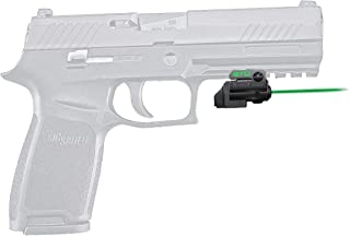 ArmaLaser Designed for Sig Sauer P320 Full Size GTO Green Laser Sight and FLX65 Grip Switch