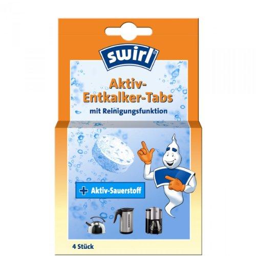 Swirl OXY-POWER Entkalker-Tabs - 4 Stck