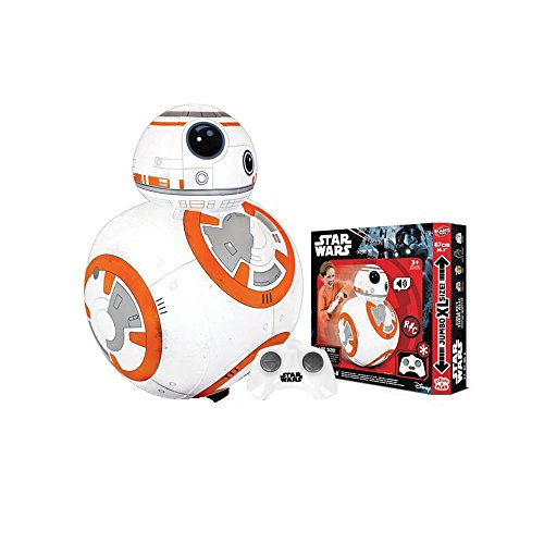 Bladez - Star Wars Droide BB-8 Hinchable RC con sonido, Escala 1:1 (Tamaño Real)