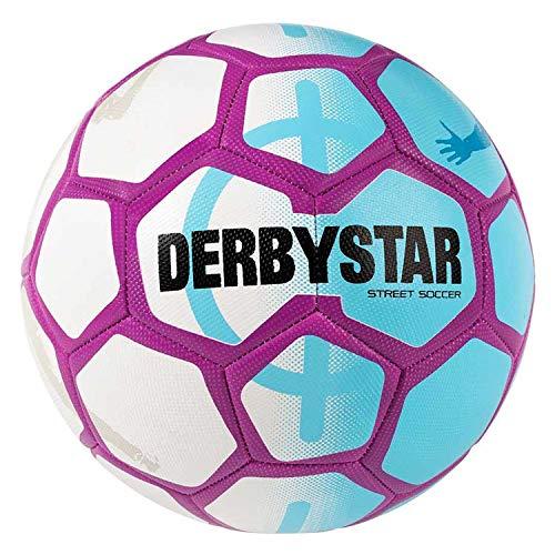 Derbystar Street Soccer Gr. 5 Fb. weiss blau purple ( 1536500169 )