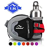 sunhiker Waist Bag, Sports Water Resistant Waist Pack with Water...