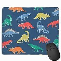 リトル恐竜 マウスパッド ノンスリップ 防水 高級感 習慣 パターン印刷 ゲーミング ホビー 事務 おしゃれ 学習