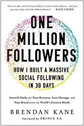 One Million Followers books about blogging