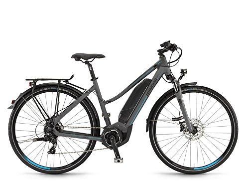 Winora Y280.X - Bicicletas eléctricas de trekking Mujer - gris Tamaño del...