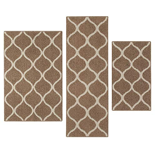 Mejor Maples Rugs Southwestern Stone Distressed Abstract Kitchen Rugs Non Skid Accent Area Floor Mat [Made in USA], 1'8 x 2'10, Multi crítica 2020