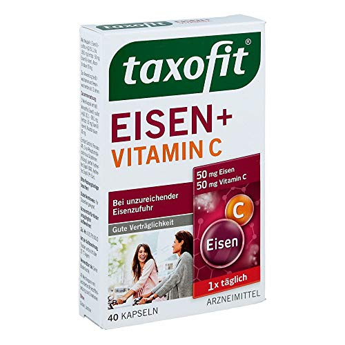 Taxofit Eisen+Vitamin C 40 stk