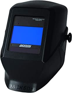 Jackson Safety HSL 100 Welding Helmet with NEXGEN 3-in-1 ADF (46148), Digital Auto Darkening, Black, 1 / Case