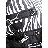 Weidedecke Highneck 600D SUMMER DREAM HKM zebra 135cm