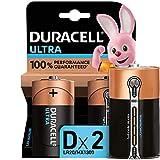 Duracell Ultra D Alkaline Batteries [Pack of 2], 1.5 V LR20 MN1300