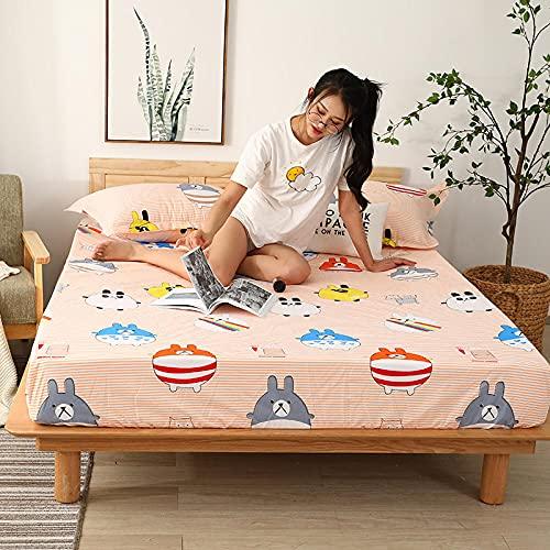 CYYyang colchón Acolchado, antialérgico antiácaros, Sábana Impermeable de un Solo Producto hotel-24_200cm × 220cm