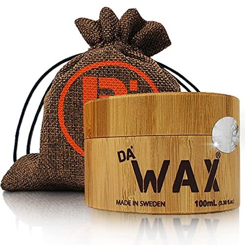 Da'Dude Da'Wax | Cera Pelo Hombre Mate | Cera Para el Pelo Fijación Fuerte, Olor Agradable y Ecológico | Cera de Agarre Fuerte, Aguanta todo el día | Único Fijador Pelo en Envase Regalo de Madera