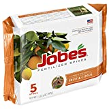 Jobe's 01002 Fruit & Citrus Fertilizer Spikes, 5