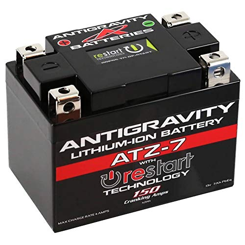 Why Choose Antigravity Re-Start ATZ7-RS Lithium Battery Replaces YTX4L for E-Ton AXL50 Light 99-03