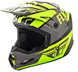 Fly Elite Guild 2019 - Casco (talla L), color gris y amarillo fluorescente