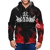 Thy Art is Murder Logo Mens Hoodies Pullover Graphic Zip Hooded Jacket Black