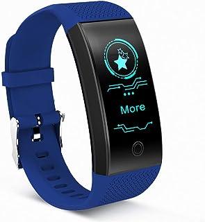 Guoqing Sport Fitness Tracker, IP67 resistente al agua, reloj con pulsómetro, monitor de sueño, podómetro, reloj para mujeres, hombres, niños