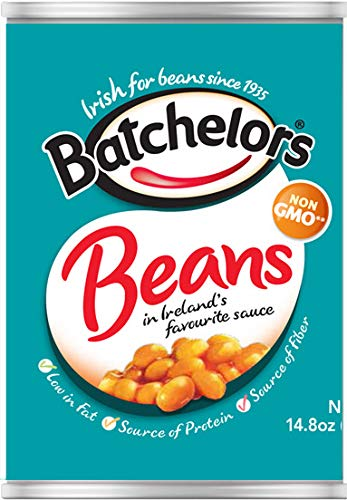 Batchelors Baked Beans In Tomato Sauce, 14.8-Ounce Cans...
