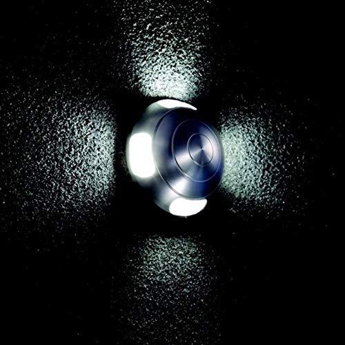 Garenergie–Lampada da esterno–Puro alluminio–Blu–IP44–LAMPADA A LED integrata–170Lumen–neod L010B