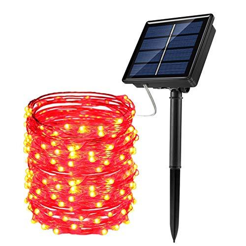 JosMega Cadena de luces solares