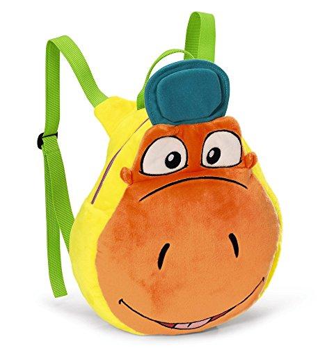 NICI 39887 Der kleine Drache Kokosnuss Rucksack, orange, 35/27