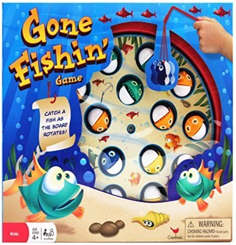 OKK Toys Gone Fishin' Game by Okk Toys Fishing Game