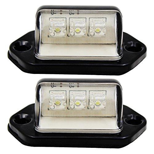 Automotive License Plate Light Assemblies