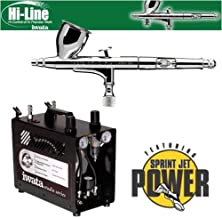 Iwata High Performance Plus HP-C Plus Airbrushing System with Power Jet Pro Air Compressor by Iwata