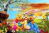 Slbtr DIY 5D Diamant Painting - Winnie The Pooh Poster