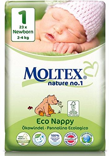 132 pcs Nature MOLTEX No1 funda de almohada de pa/ñales XL GR 6 6 x 22 ST 16-30 kg