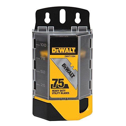 Dewalt DWHT11004 4 Pack 75 Pc. Heavy Duty Utility Blades