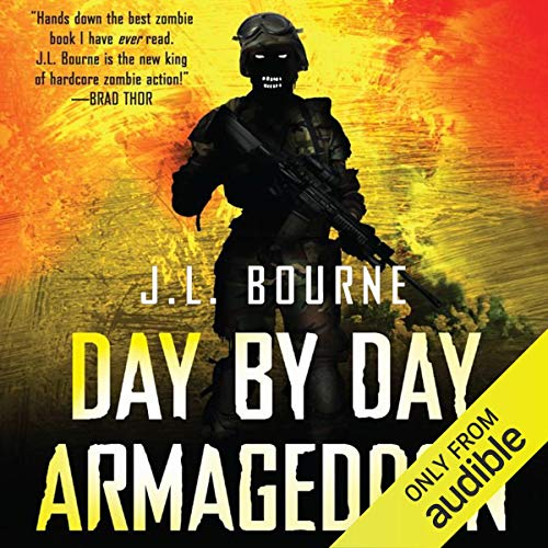 Page de couverture de Day By Day Armageddon
