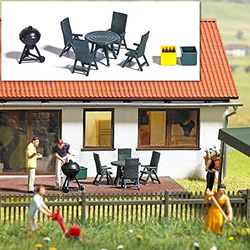Busch - Mobilier de jardin et barbecue