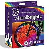 Brightz WheelBrightz LED Bike Wheel Lights, Rainbow, Pack of 2 Wheel...