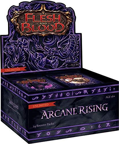 ADC Blackfire Entertainment Flesh & Blood Arcane Rising Unlimited Booster Box mit 24 Umschlägen