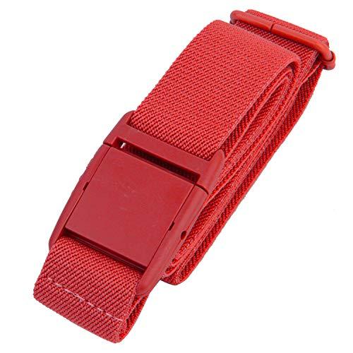 Gelante Women Invisible Belt - Elastic Adjustable Slimming No Show 2045-Red (0-14)