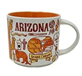 Starbucks Arizona Been There Series Ceramic Coffee Mug 14 oz