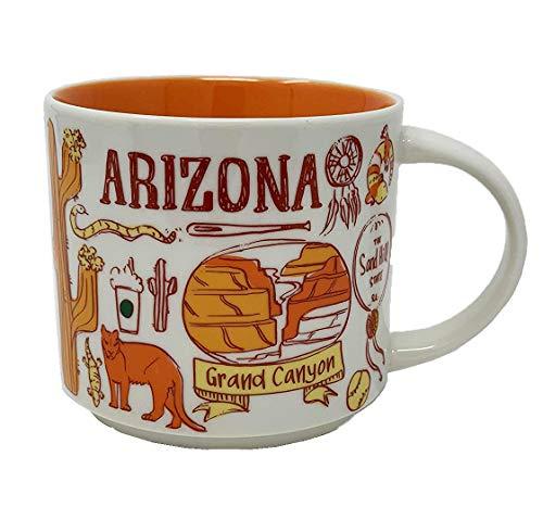 Starbucks Arizona Been There Series Ceramic Coffee Mug 14 oz