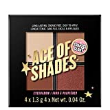 Soap & Glory Ace of Shades Eye Shadow Quad Feel the Heat, pack of 1