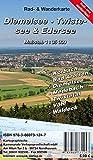 Diemelsee - Twistesee - Edersee: Rad- und Wanderkarte (wetterfest)