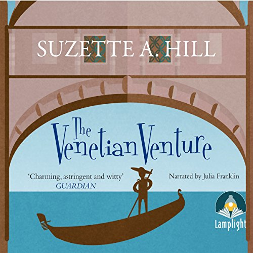 The Venetian Venture audiobook cover art