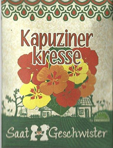 Die Stadtgärtner Kapuzinerkresse-Saatgut | Blume mit wunderschönen, essbaren und leuchtend-bunten Blüten | Leicht keimende Samen