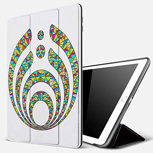 iPad 9.7 inch 2017/2018 Case/iPad Air/Air 2 Cover,Bass-Ne-Ctar Warmth,Duvet Comforter Cover Set for Teens Children Girls,PU Leather Shockproof Shell Stand Smart Cover with Auto Wake